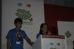 The Canadian Youth Delegation co-hosted a side event at COP 16