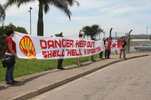 Shell taken to court for violating Treaty rights