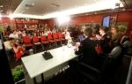 CYD press conference launching bitumenswear.org
