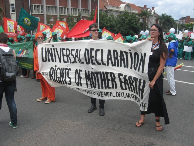 Universal Declaration For the Rights of Mother Earth