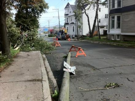 Hurricane Leslie, St. John's Newfoundland